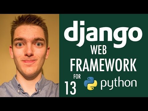 Building The Django Base HTML Template (Django Tutorial) | Part 13