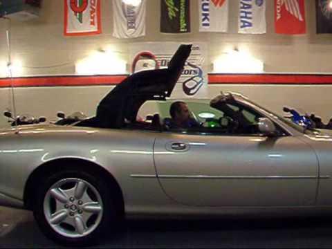 edirect motors 1999 jaguar xk8 convertible youtube. Black Bedroom Furniture Sets. Home Design Ideas