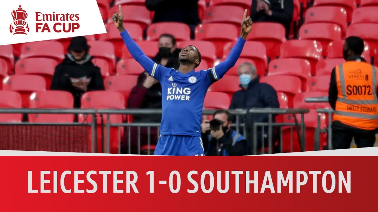 Leicester vs Southampton (1-0)   Iheanacho sends Foxes to the final   Emirates FA Cup Highlights