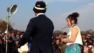 품바 가을이 - 옛노래 색소폰연주와 노래&삼식이품바의 배꼽 빠지게 웃기고 재미있는 품바교육