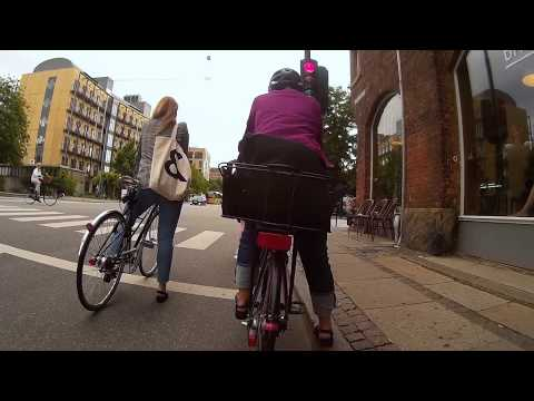 Copenhagen Cycling: Afternoon Rush Hour - Vesterbro to Bispebjerg