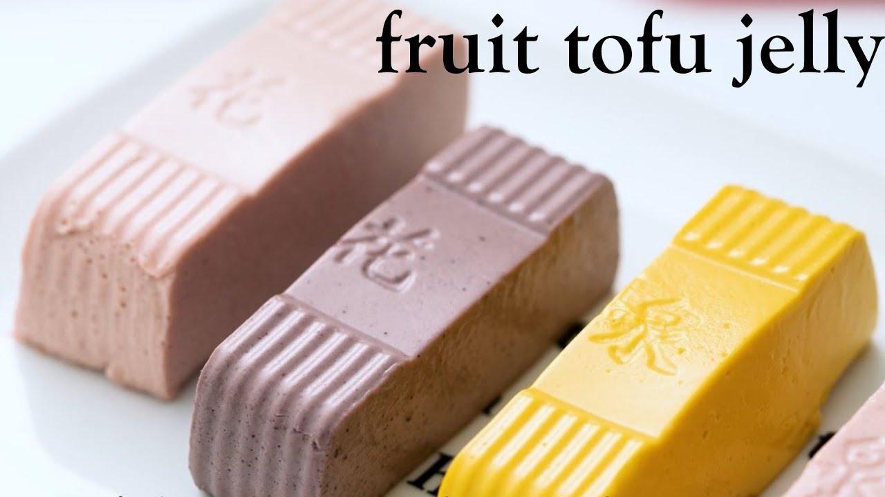 I make tofu into a summer dessert: fruit tofu, I am creative