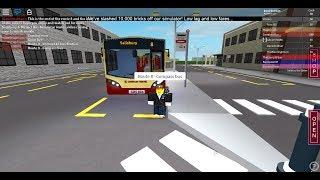 ROBLOX - SaIisbury & District Bus Simulator - Route 8 - Amesbury Nach SaIisbury