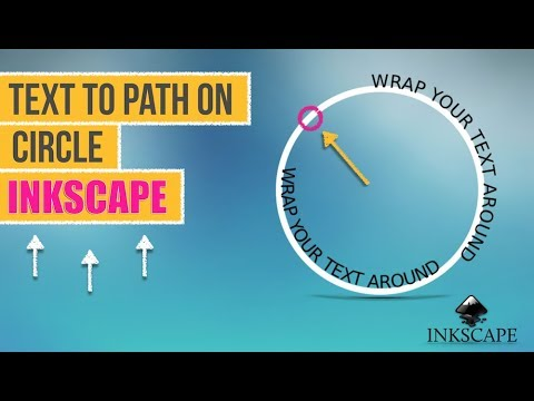 Text to Path on Circle Using Inkscape