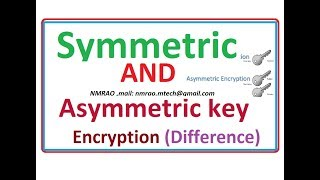 symmetric and asymmetric key encryption