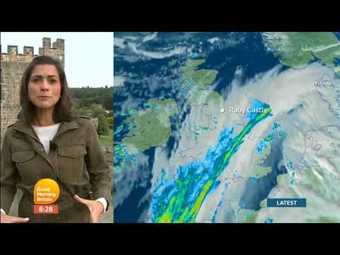 Lucy Verasamy Raby Castle Co  Durham GMB Weather 2017 08 30