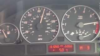 BMW 330 CI E46 Max Speed