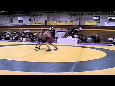 2002 Senior Greco National Championships: 74 kg Andy Mitton vs. Colin Daynes