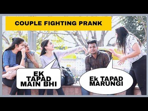 Couple Fighting Prank  In Public FT- The Prank Street   AKY FILMS  