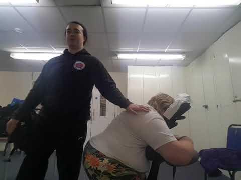Onsite chair massage tuina Thai yoga sports deep tissue massage London