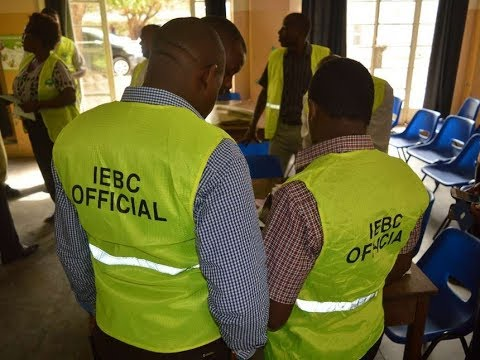 Kisumu residents disrupt training of IEBC Presiding and Returning officers