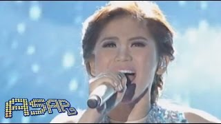 Sarah Geronimo sings Frozen's 'Let It Go' on ASAP