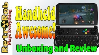 GPD Win 2 Handheld Gaming PC Unboxing and Thoughs Plus Gameplay!
