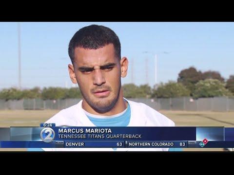 Mariota apologizes for being