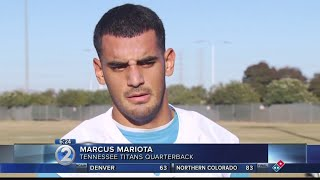 Mariota apologizes for being