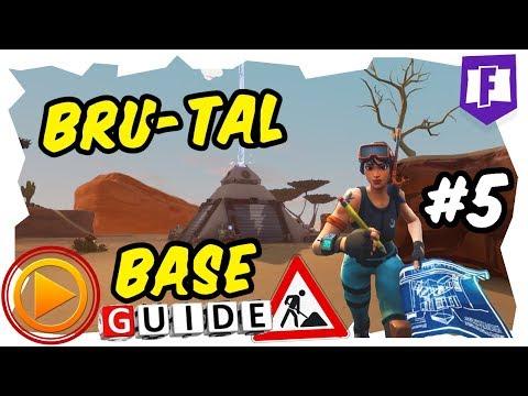 Line 5 Base Bau #5 - Fortnite Rette die Welt - Bau und Fallen Guide Bru-Tal