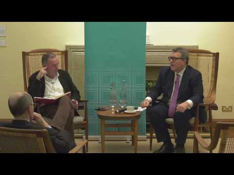 'The Future of the Left' Nuffield College, Oxford 07/12/2017. Guest speaker Tom Watson