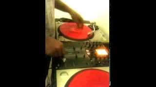 Scratch Session & Practice Dj Hutch from 96.7 The Block & 99.5 JAMZ 2014