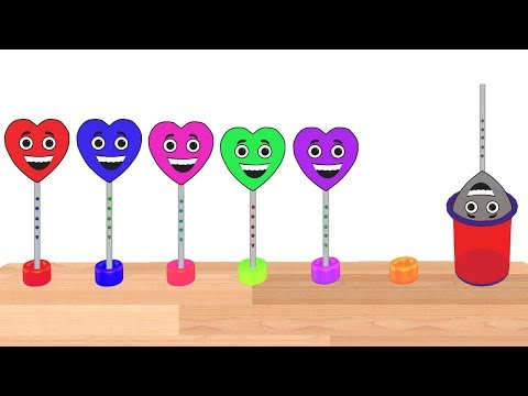 Learn Lollipop Colors Video For Children    Colors For Kids    Nursery Rhymes Collection thumbnail