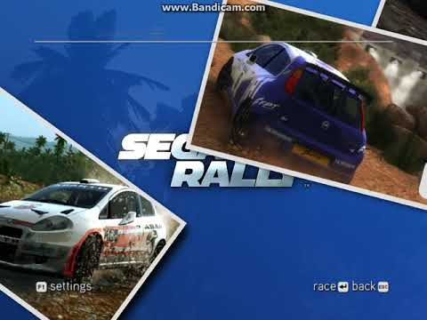 All Cars from SEGA Rally (2007)