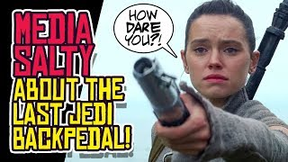 The Last Jedi: Media SALTY About Backpedaling by Abrams and Boyega!