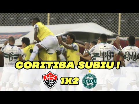 Vitória 1x2 Coritiba//MELHORES MOMENTOS