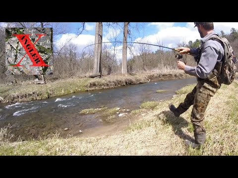 Stream Trout On Jigs - Fishing The Driftless Area Of Southeast Minnesota For Trout