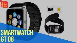 Conheça o Relógio inteligente Smartwatch GT08