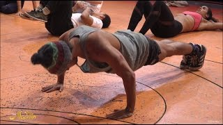 Aladdin The Musical: Keep fit with the cast of ALADDIN London | Official Disney HD