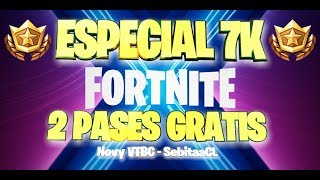 🔴 SPECIAL 7K 🔴 TORNEO 5 FREE PASSES / *PRIVATE PARTIES* WITH SUBS / *FORTNITE CHILE* /