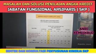 Download Masalah Dan Solusi  Penilaian Angka Kredit Arsiparis ( SKP) #arsiparis #penilaianak #arsipaktif