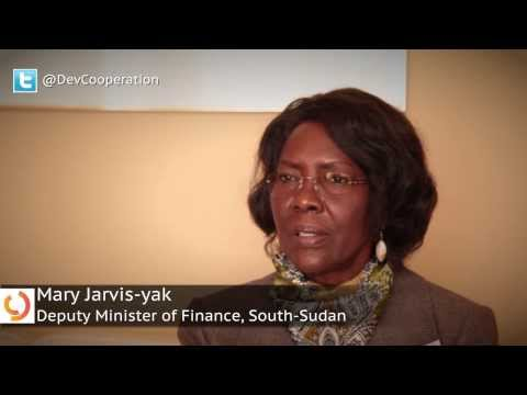 Interview with Mary Jarvis-yak, Deputy Minister of Finance, South Sudan.