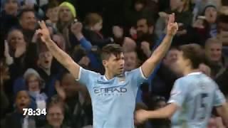 Every Aguero goal Man Citys record goalscorer