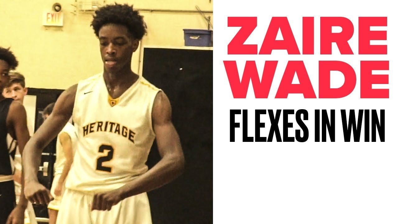 Zaire Wade DOMINATES in Blowout Win