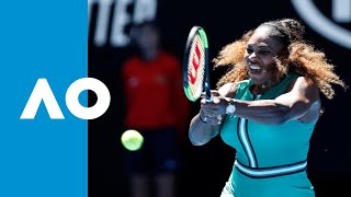 Dayana Yastremska v Serena Williams match highlights (3R) | Australian Open 2019