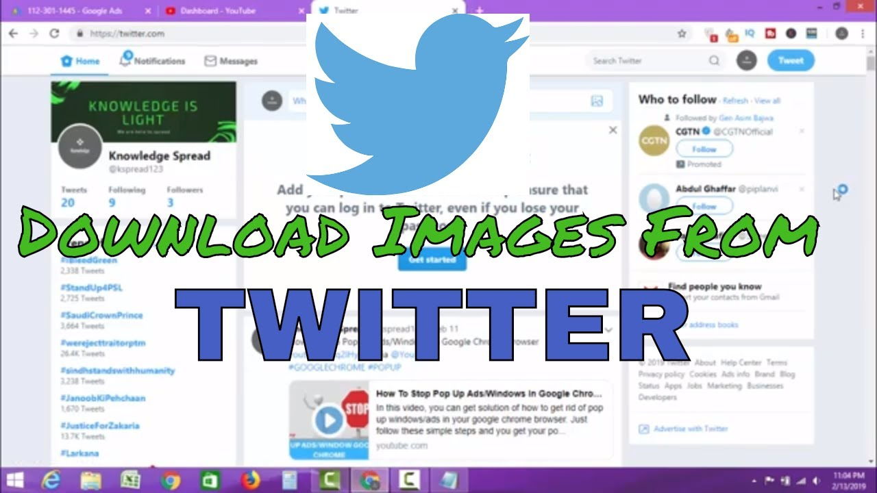 How To Save Pictures From Twitter on Pc - Easy Steps