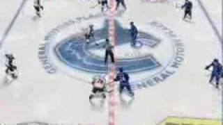 NHL 09 PC Vancouver Vs Minnesota Period 1