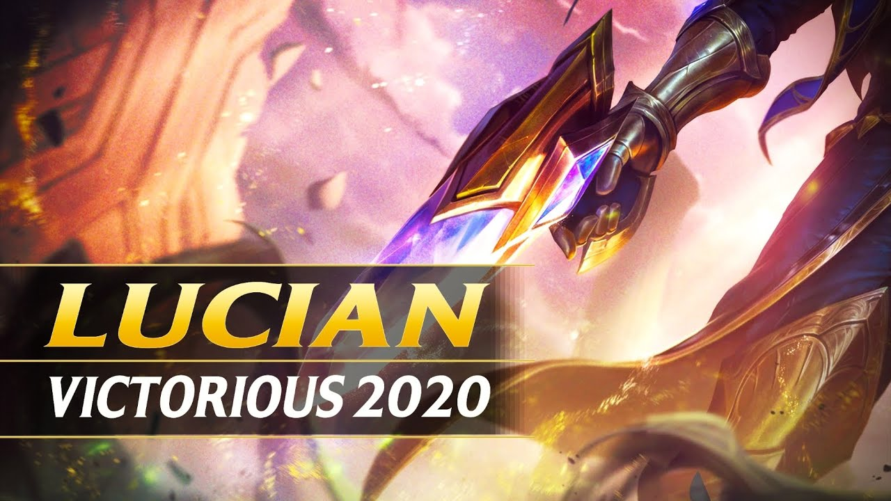 VICTORIOUS LUCIAN 2020 FREE SKIN TEASER - League of Legends