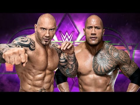 why the rock vs batista must happen at wrestlemania 34