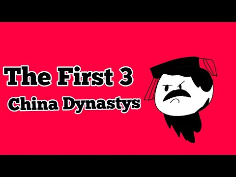 The First 3 Dynasty's of China (School Project)