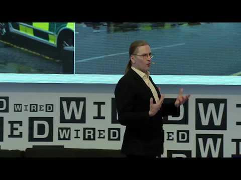 Mikko Hypponen speaks at Wired Next Fest