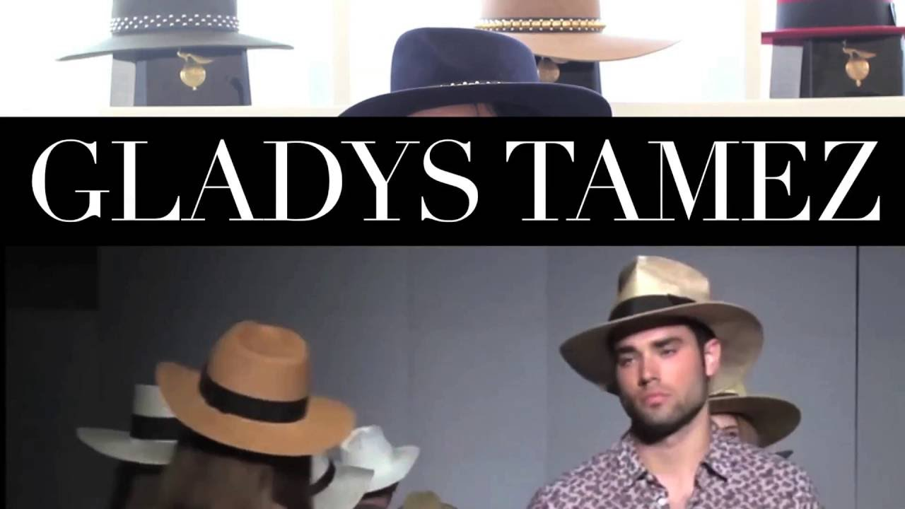 6ef177afd39 Designer Gladys Tamez on why everyone should own a good hat - YouTube