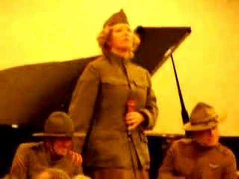 WW1 Songs -- Pro & Con -- sung by Ann Gibson