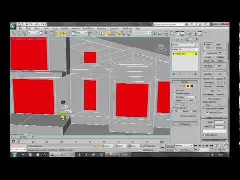 3ds Max Editable Poly House Modelling Part01BasicModelling