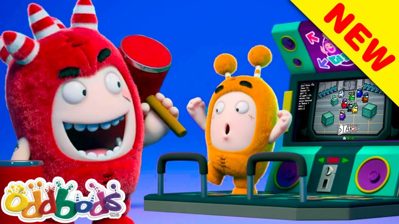 ODDBODS | Odd Gamers Among Us | Kids Cartoon