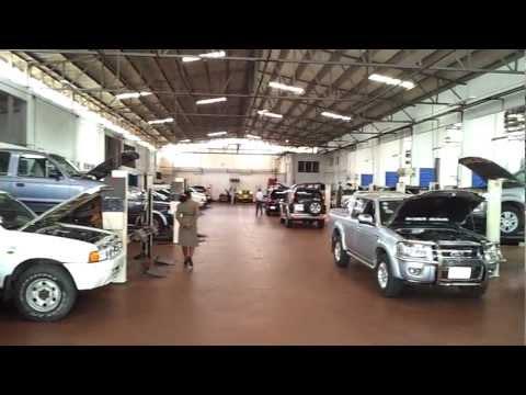 Ghana Mechanical Lloyd vehicle service area (1st video)