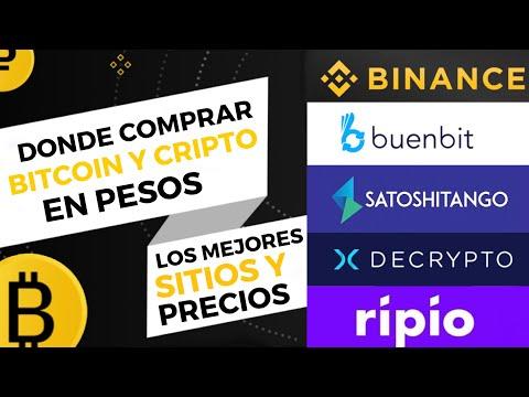 ¡Dónde Comprar Bitcoin Y Criptomonedas En Pesos Argentinos! Los Mejores Sitios Y Al Mejor Precio!