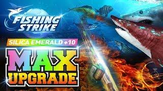 《釣魚大亨 Fishing Strike》 Silica Emerald Set Rod Max Upgrade +10 866,399 Mastery!