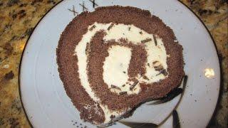 YUMMY GOOD ICE CREAM CAKE ROLL DIY