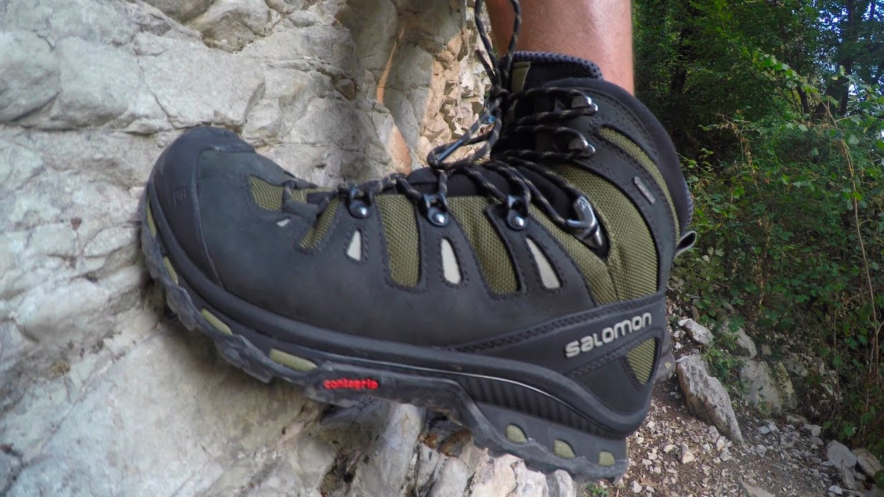 aca81a46ff382 Salomon QUEST 4D 2 GTX for light trekking - YouTube